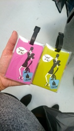 Etiquettes de bagages LANVIN - VP Arlettie 29/03/2014